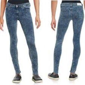 IRO Jeans Fannie Acid Wash Skinny 30x30 MSRP $315